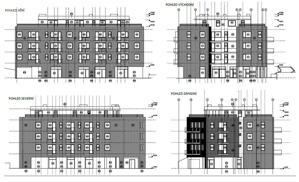 Developerský projekt BD v Hloubětíně